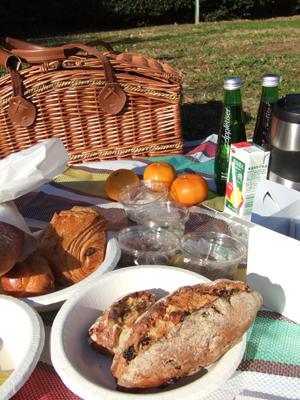 草上の昼食