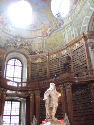 ECナビブログβ版-ウィーンの図書館