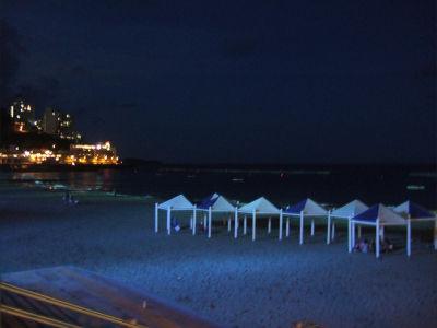 ECナビブログβ版-夜のビーチ