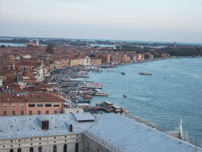 ECナビブログβ版-大鐘楼から見るヴェネチア