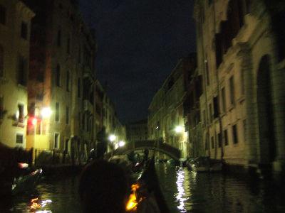 ECナビブログβ版-夜の運河