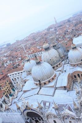上からみたヴェネツィア