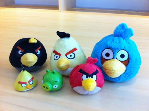 Angry Birdsコレクション!