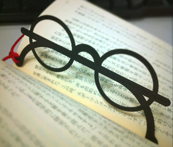メガネのしおり